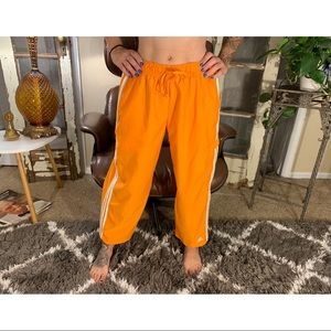 2006 adidas cropped ankle dance pants.